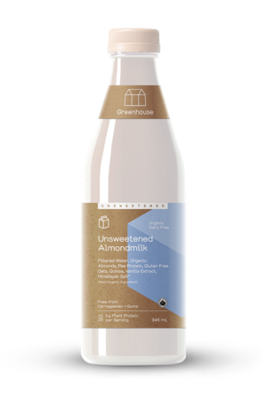 Greenhouse 946ml almondmilk unsweetened productshot updated