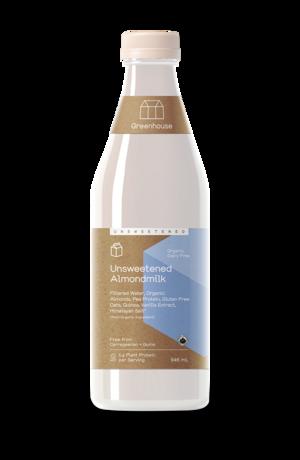 Greenhouse 946ml almondmilk unsweetened productshot updated