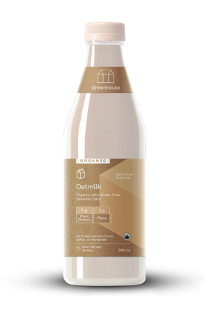 Greenhouse 946ml oatmilk productshot