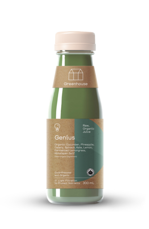 Greenhouse 300ml genius productshot orgcert